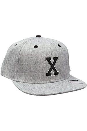 MSTRDS Letter Snapback X Baseball Cap, -Grau (X 1180,4639)