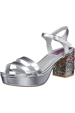 GIOSEPPO Women's 44063 Open Toe Sandals, (Plata)
