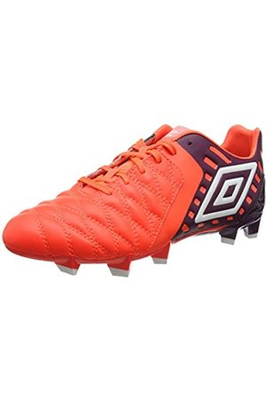 Umbro Men's Medusæ Ii Premier Hg Football Boots, (Winter Bloom/ /Fiery Coral)