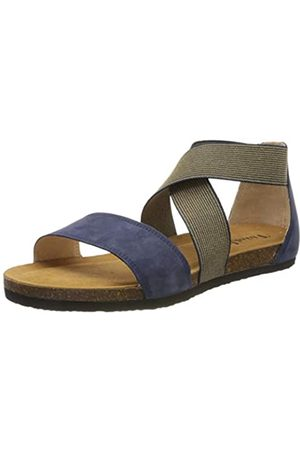 Think! Women's 686593_Shik Ankle Strap Sandals, (Indigo/Kombi 90)