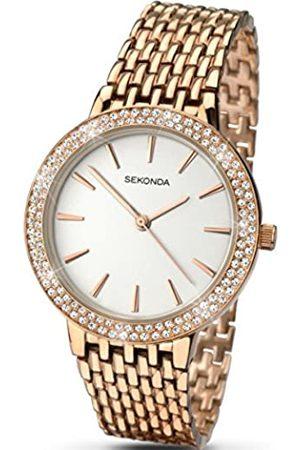 Sekonda Women's Quartz Watch with Dial Analogue Display and Rose Bracelet 2157.27