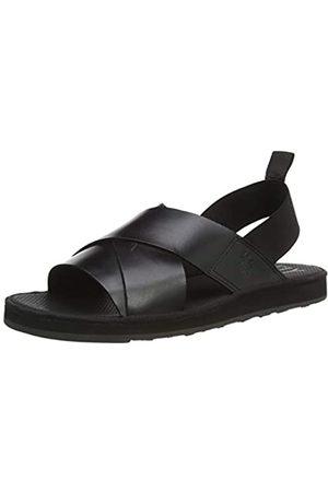 Fly London Men's BLAK185FLY Open Toe Sandals, ( 000)