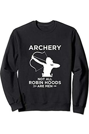 Archery Bow Hunting Gift Co. Archery Robin Hood Women Bow Hunting Sweatshirt