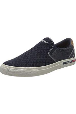 s.Oliver Men's 5-5-14602-24 Loafers, (Navy 805)