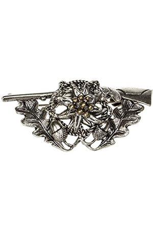 Schnabel Schnabel Jewellery Mens Rifle Hunting Badge Brooch