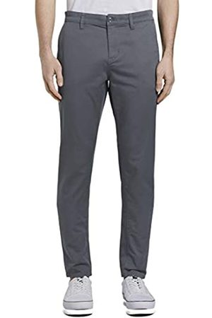 Tom Tailor Denim Men's Slim Chino Trouser, 21756-Urban Medium Gray