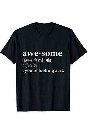 VISHTEA Awesome Definition T-shirt I'm Awesome Funny Tee T-Shirt