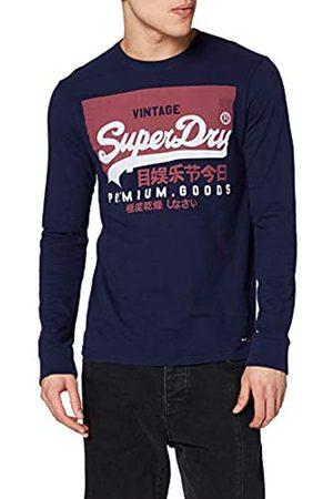 Superdry Men's Vl O Ls Tee Vest