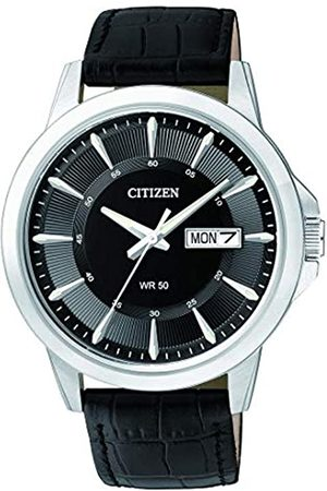 Citizen Men's Analogue Quartz Watch with Leather Strap BF2011-01EE