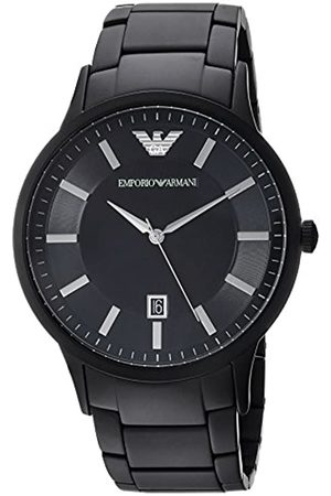 Emporio Armani Mens Analogue Quartz Watch with Stainless Steel Strap AR11079