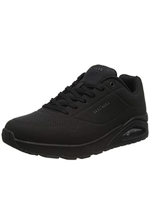 Skechers Men's Uno - Stand on Air Trainers, ( Durabuck/Trim Bbk)