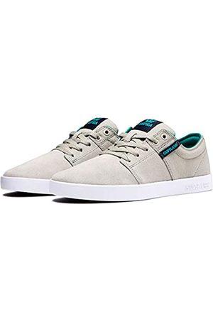 Supra Unisex Adults' Stacks Ii Skateboarding Shoes, (Stone/Navy- -M 253)