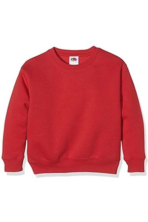 Fruit Of The Loom Unisex Kids Set-In Premium Sweater