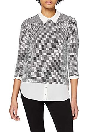 Dorothy Perkins Women's Spot Jacquard 2 in 1 Top Blouse