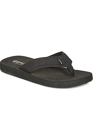 Cool shoe Men's Cloud Flip Flops, Noir ( 00001)