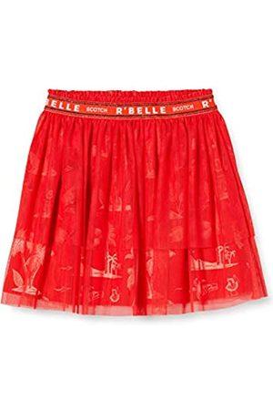 Scotch & Soda Girl's Midi Length Tule Skirt with Elasticated Waistband