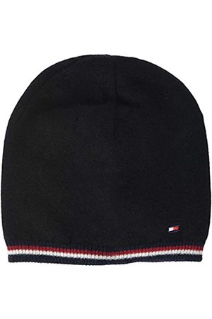 Tommy Hilfiger Men's Double Sided Knit Beanie ( /Charcoal 902)
