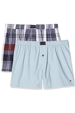 Tommy Hilfiger Men's 2p Woven Boxer Check Shorts