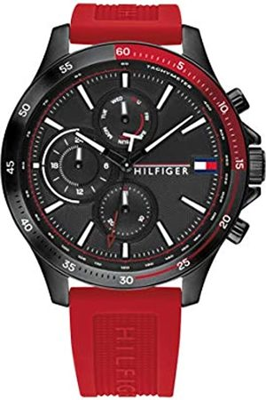 Tommy Hilfiger Men's Analogue Quartz Watch with Silicone Strap 1791722
