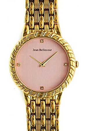 Jean Bellecour Unisex-Adult Analogue Classic Quartz Watch with Stainless Steel Strap REDS20-GP