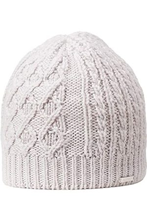 Giesswein Knitted Beanie Kampenwand Marble ONE - Winter Merino Wool Beanie, Women's Knit Hat with Cable Pattern, Women's Beanie, Fleece Lined Cap, Breathable