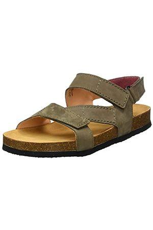 Think! Men's 686704_WOLFI Sling Back Sandals, (Oliv 62)
