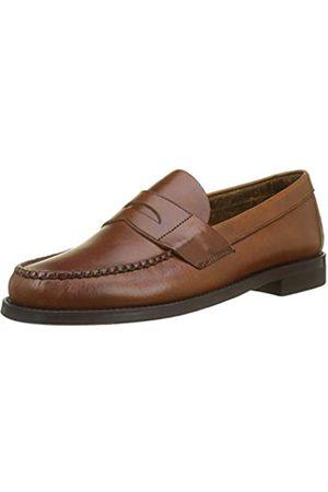 SEBAGO Men's Classic Dan Waxy Loafers, ( Cinnamon 922)