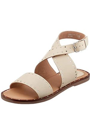 Kickers Women's Kiclana Sling Back Sandals, Off- (Blanc Casse 31)