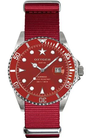 Oxygen Shanghai 40 Unisex Quartz Watch with Dial Analogue Display and Nylon Strap EX-D-SHA-40-RE