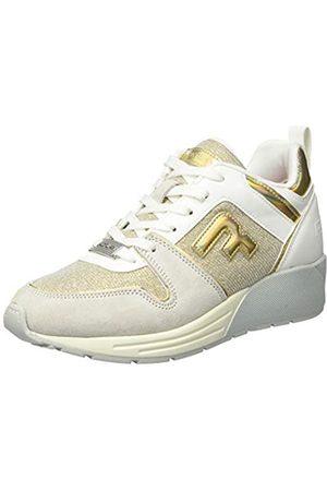 Replay Women's Ice-Plugin Low-Top Sneakers, (Iriscent Platinum 2800)