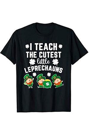 St. Patrick's Day Irish Pride Clothing Gift I Teach Cutest Little Leprechauns St. Patrick's Day Teacher T-Shirt