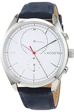 Lacoste Mens Multi dial Quartz Watch with Leather Strap 2010916
