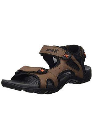 Kamik Men's Milos Ankle Strap Sandals, ( BRN)