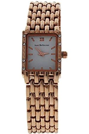 Jean Bellecour Unisex-Adult Analogue Classic Quartz Watch with Stainless Steel Strap REDS25-RGW