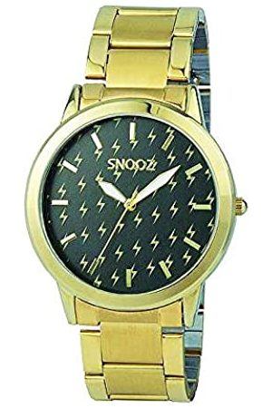 Snooz Unisex Adult Analogue Quartz Watch with Stainless Steel Strap Spa1033-01