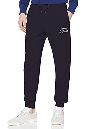 Tommy Hilfiger Men's Basic Embroidered Sweatpants Sports Jumper