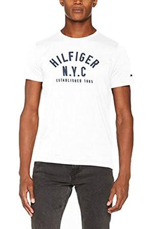 Tommy Hilfiger Men's WCC Chase C-NK TEE S/S RF Kniited Tank Top