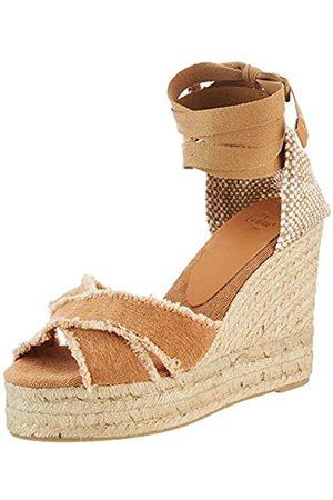 Castañer Women's Bluma/8ed/ss20002 Espadrille Wedge Sandals