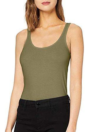 Vero Moda Women's Vmmaxi My Soft Long Tank Top Ga Color T-Shirt