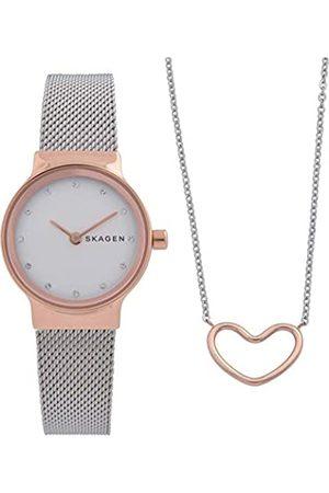 Skagen Womens Analogue Quartz Watch with Stainless Steel Strap SKW1101