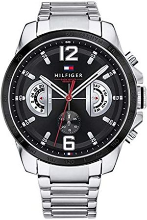 Tommy Hilfiger Unisex-Adult Multi dial Quartz Watch with Stainless Steel Strap 1791472
