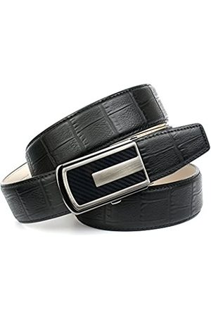 Anthoni Crown Men's's A3CA10 Belt (Schwarz 010) 95