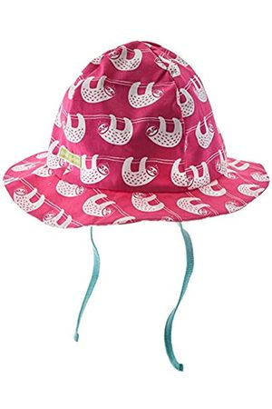loud + proud Baby Girls' Hat with Print Organic Cotton Sun