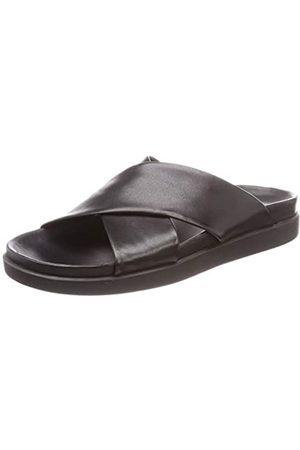 Clarks Men's Sunder Cross Closed Toe Sandals, ( Leather Leather)