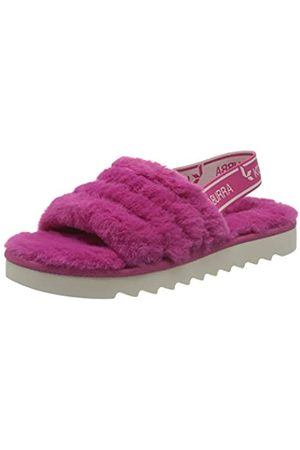 KOOLABURRA BY UGG FUZZ'N Girls' Sandals & Flip Flop (RASPBERRY ROSE)