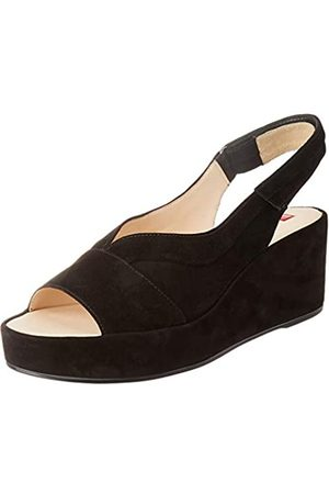 Högl Women's Pappilon Sling Back Sandals, (Schwarz 0100)