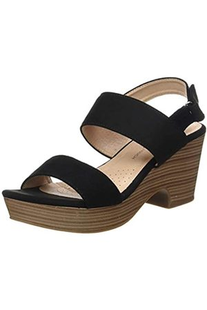 Leatherman Women's 49996 Platform Sandals, (Negro Negro)
