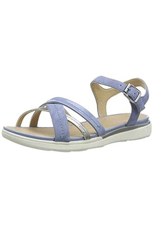 Geox Women's D Hiver A Open Toe Sandals, (Lt / C0009)