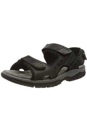 Rohde Men's Cortina Platform Sandals, (Schwarz 90)