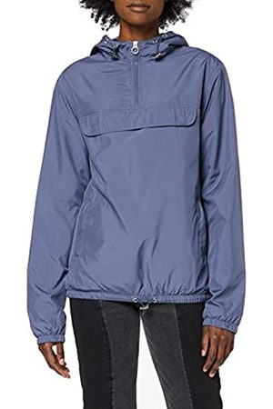 Urban classics Women's Windbreaker Ladies Basic Pull Over Jacket Wind-Jacke